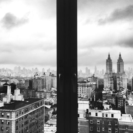 EyeEmNewHere Architecture Building Exterior City Cityscape No People Skyscraper Blackandwhite USA Manhattan Building Geometric Shape New York City Symmetrical Architecture Symmetry Architecture IPhone Photography Welcome To Black