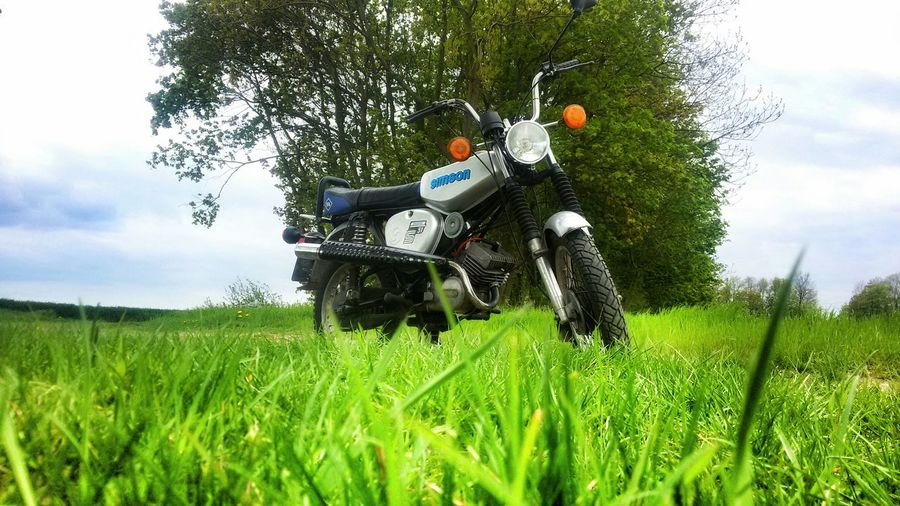 Motorcycle Nature