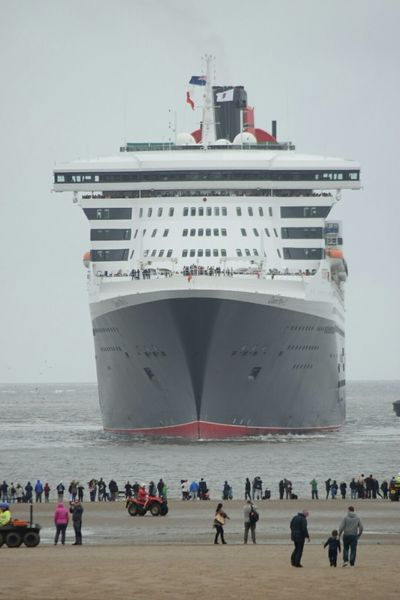 Queen Mary 2 Liverpool The Places I've Been Today