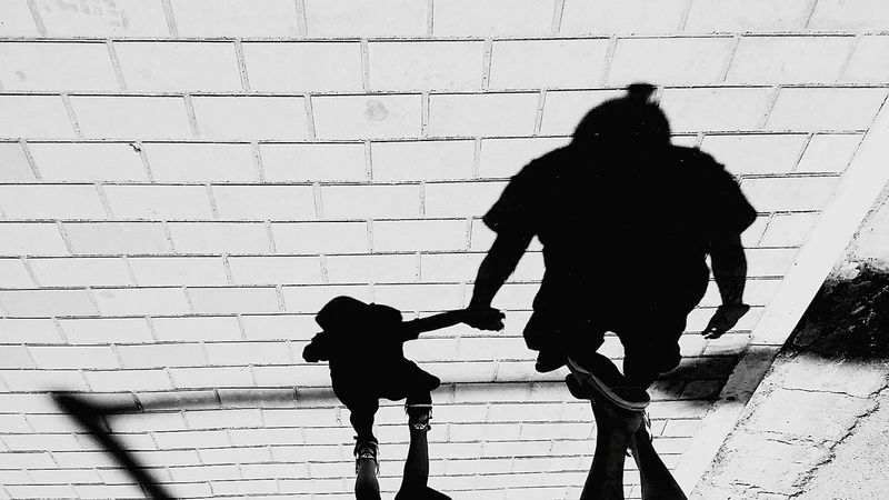 Walking Real People Shadow Focus On Shadow Outdoors Welcome To Black