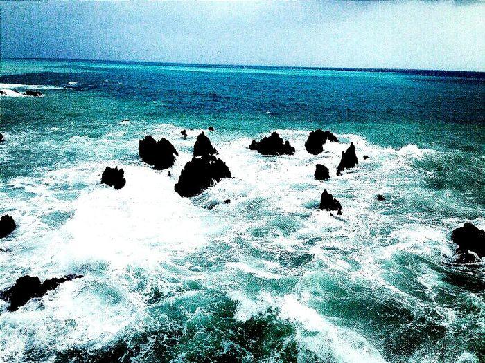 Summer Sea Shtorm Beautiful Stones Sky шторм голубой синий небо