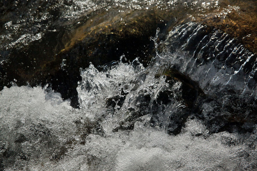 3D Patterns in Flowing Water Flowing Water Forces Of Nature Gunpowder River Head Waters Hemlock Gorge Maryland Nature Nature Photography Nature_collection Refraction Stream Water Water Flow