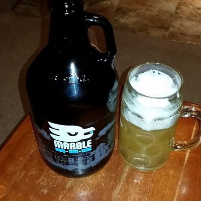 Marblebrewery Doublewhite kind of a day