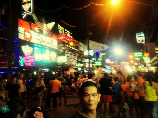 Bangla road never sleep