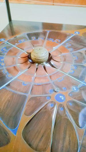 Mini Matrimindir Miniature Structure Architecture Plan Golden Globe Golden MatriMandir Auroville Auroville Information Centre Healing Center Art Touristspot Vacation Sightseeing Golden Golden Ball EyeEm Selects No People Indoors  Day Close-up An Eye For Travel