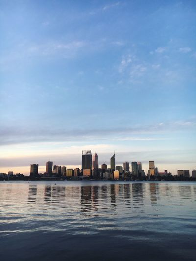 The city Photography Water Sky Architecture Cloud - Sky City Built Structure EyeEmNewHere Urban Skyline First Eyeem Photo