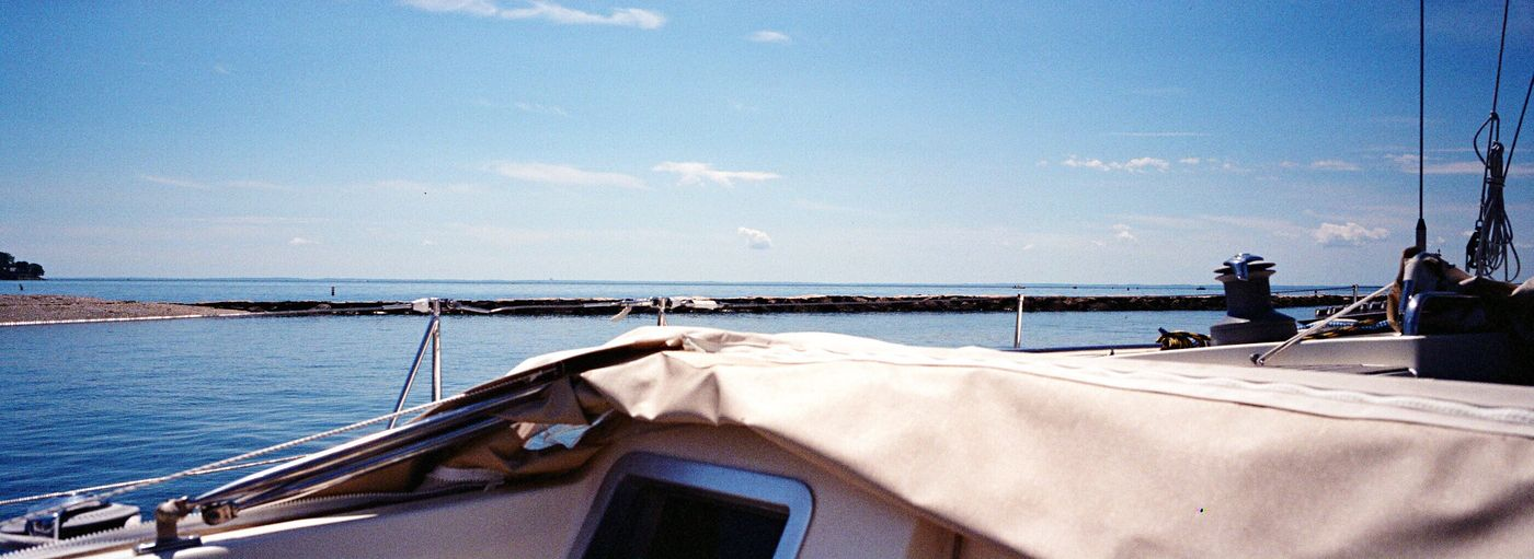 Water Sea Sky Nautical Vessel Southport Film Xpan Koduckgirl