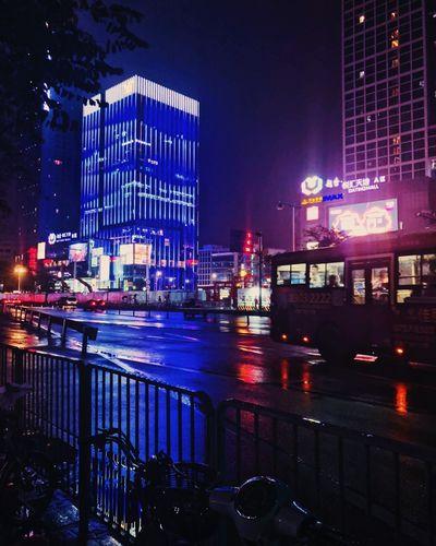Light Neon Dark Street China
