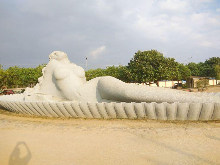 Mermaid in the beach Mermaid Evening Beach