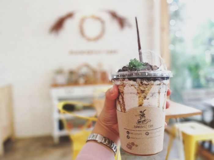 Cookies&Cream milk shake Drink Focus On Foreground Food And Drink HuaweiP9 Close-up