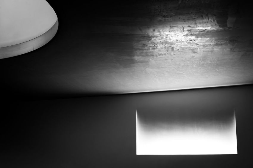 Architecture Blackandwhite Ceiling Copy Space Dark darkness and light Domestic Room Electric Lamp Glowing Illuminated Indoors  Light Light - Natural Phenomenon Low Angle View Minimalism Nature Night No People Sky Space