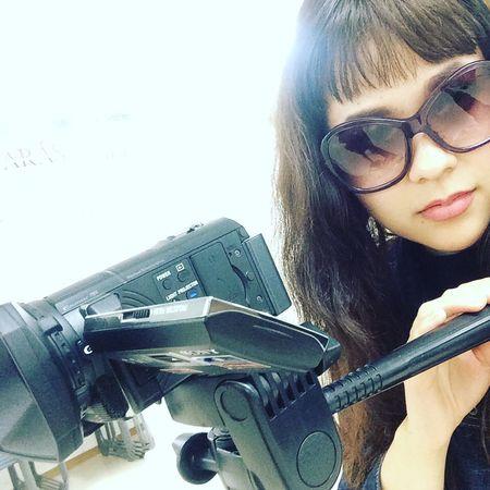 😍💋💥 Dreaming Life Japan Director Of Photography Production Camera Love Sunglasses Prada Fringe