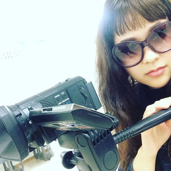 😍💋💥 Dreaming Life Japan Director Of Photography Production Camera Love Sunglasses Prada Fringe