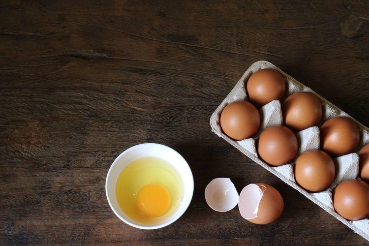 Eggs Shell Raw