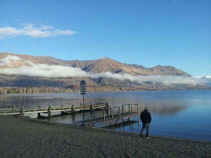 New Zealand Lake Wanaka Snowboarding Season Bliss Still Fragility Learn & Shoot: Simplicity Sea Outdoors Winter Water Blue Clouds And Sky
