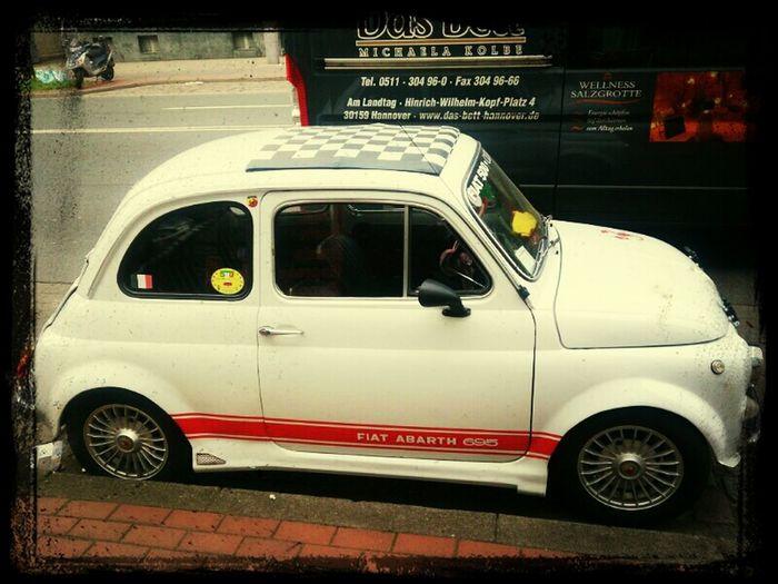 City Life Retro Cars Oldtimer Fiat 500 Abarth