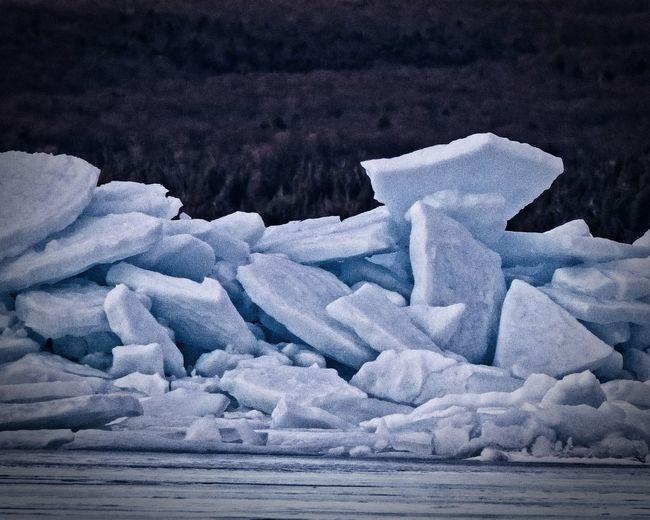 Blue Ice stacks
