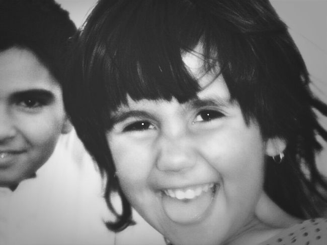 Happy Face of Iman My Little Sister ♡ from Kabul Afghanistan