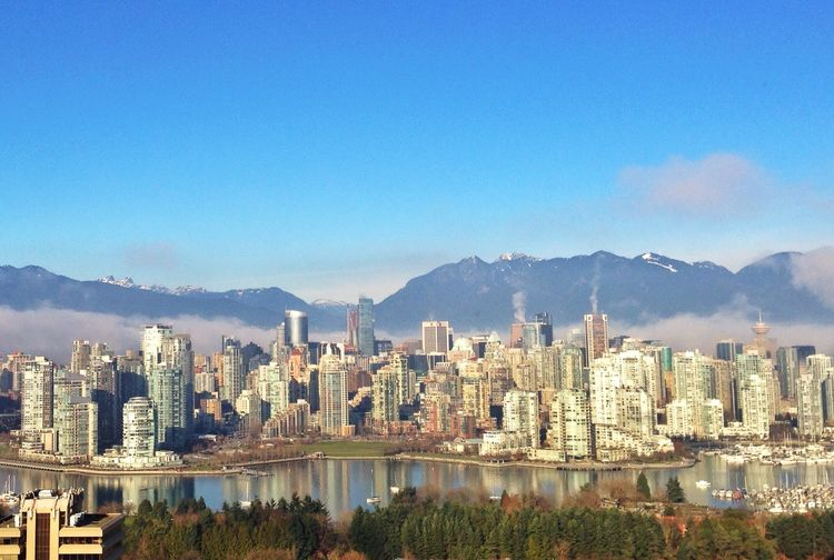 View from Vancouver General Hospital