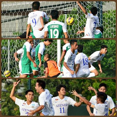 Goal by Roxas @julianrxs7 for Ateneo at 55' 🎆 ⚽ . . . UAAP Uaap77 Uaapseason77 ADMUvsDLSU ateneo lasalle sbspotlight soccerbible seniors football themanansala
