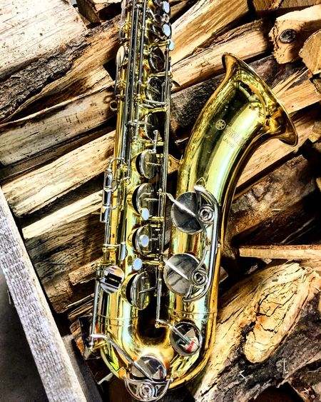 Holzblasinstrument! Saxophon! 😉🎷 Musical Instrument Saxophone No People Music