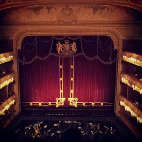 A night at the ballet! Roh Donquihoaté Plebs