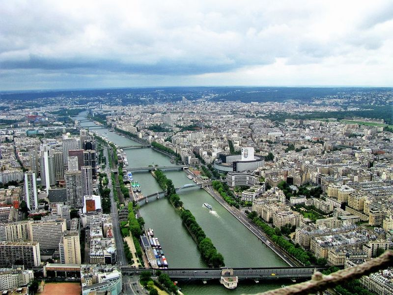 View from Eiffel Tower A Bird's Eye View Aerial View Architecture Building Exterior Built Structure City City Life Cityscape Residential District View From Eiffel Tower
