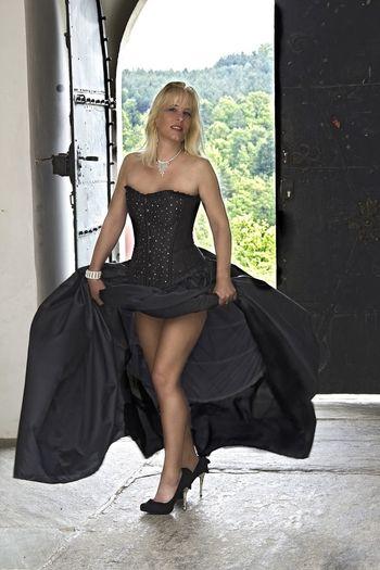 Goodnight Good Morning Good Morning! Blonde Nina Women Who Inspire You Blond Hair SexyGirl.♥ Sexylegs Legs Standing High Heels Sternfee