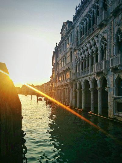 43 Golden Moments golden hour Enjoying Life travel Venice Palace canal Sunset lenses