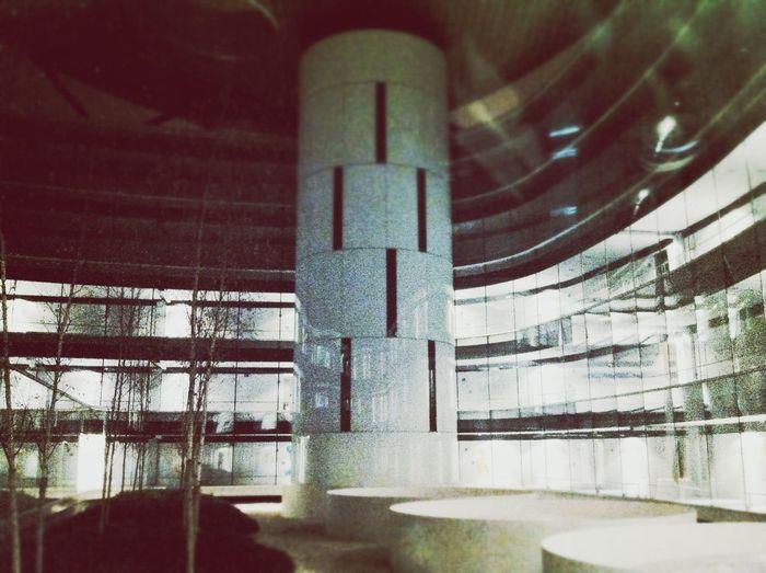 Feeling like I'm in spaceship Arquitecture Hospital