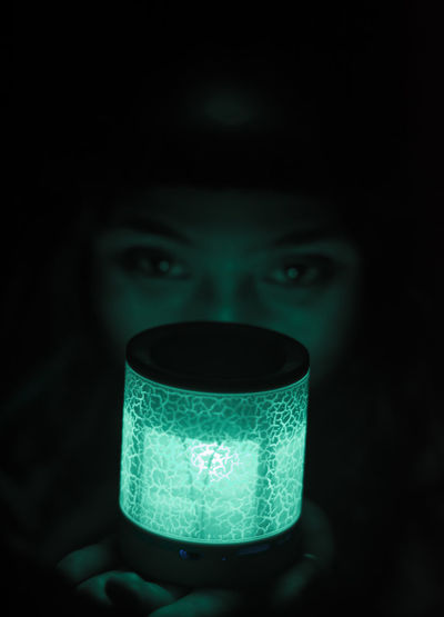 Beauty Black Black Background Close-up Dark Day Eyes Human Eyes Human Face Illuminated Light Light And Shadow Light And Shadows Low Light One Person People The City Light