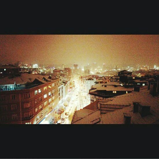 Manzara Kar Kış
