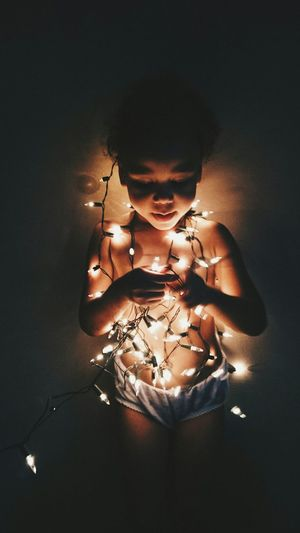 The most special time of the year.Taking Photos Christmas Lights Christmas Time Christmas Spirit Baby Girl Lights Light And Shadow Enjoying Life Vscocam The Week On EyeEm Simple Things Good Vibes Lovely Things