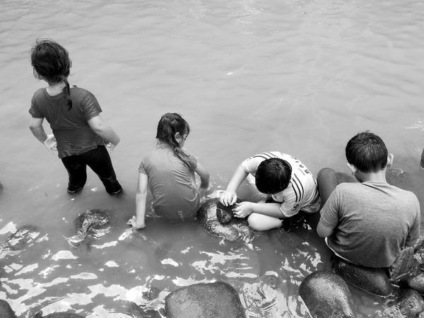 Empat Sekawan.. Child Togetherness Friendship Childhood Brotherhood Brother & Sister People Monochrome Nature Black And White Black & White Black And White Photography Traveling Home For The Holidays Riverside EyeEmNewHere Adapted To The City Uniqueness Lieblingsteil Welcome To Black Break The Mold Art Is Everywhere TCPM The Portraitist - 2017 EyeEm Awards The Street Photographer - 2017 EyeEm Awards The Great Outdoors - 2017 EyeEm Awards The Photojournalist - 2017 EyeEm Awards BYOPaper! Live For The Story Place Of Heart Let's Go. Together. EyeEm Selects Breathing Space Investing In Quality Of Life The Week On EyeEm Your Ticket To Europe Mix Yourself A Good Time Modern Love Been There. Done That. Lost In The Landscape Connected By Travel Second Acts Perspectives On Nature Rethink Things Black And White Friday Be. Ready. AI Now EyeEm Ready   This Is Family The Traveler - 2018 EyeEm Awards The Great Outdoors - 2018 EyeEm Awards
