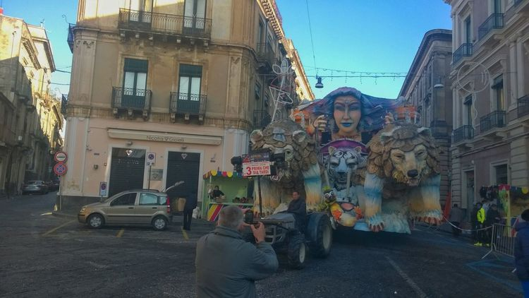 Colors Of Carnival Acireale Floats Carnival Sicily Italy