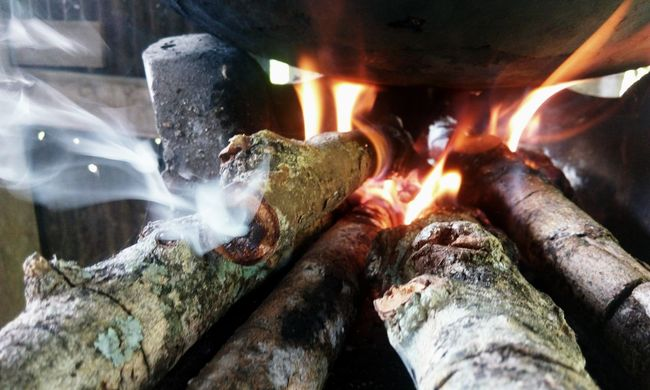 Motion Flame Burning Indoors  Long Exposure Heat - Temperature No People Close-up Water Day Metal Industry Beauty In Nature Winter Wood Wooden Post