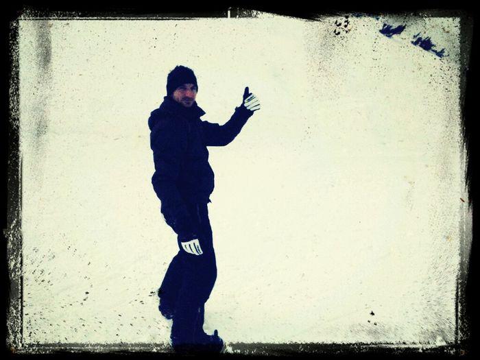 autostop in zoncolan Snowboarding