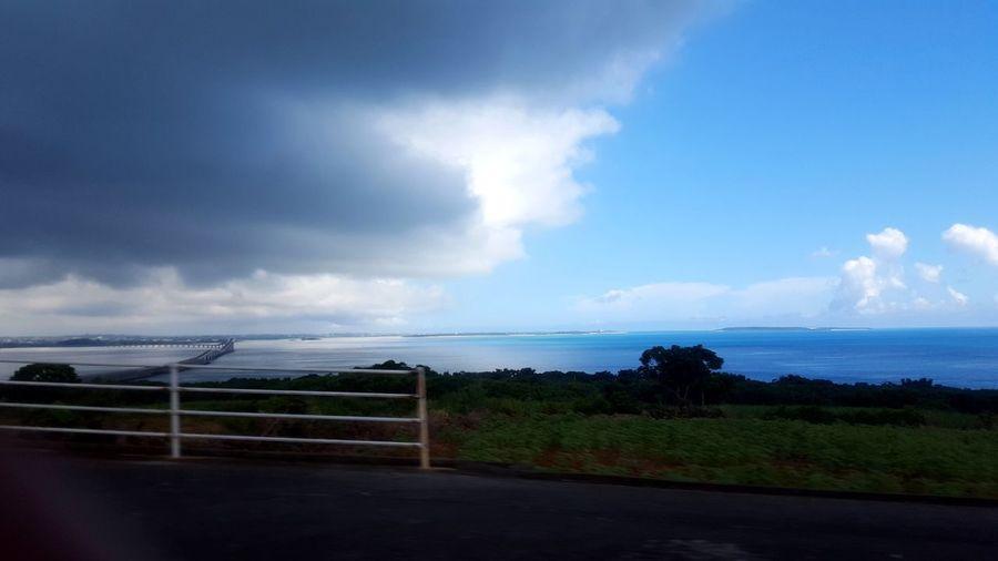 変化 海 天気 雨雲 晴天 空 雲 Japan Weather Change Rain Clouds Cloud - Sky Cloud - Sky Dramatic Sky Sky Sea Horizon Over Water Water No People Beauty In Nature Nature Day