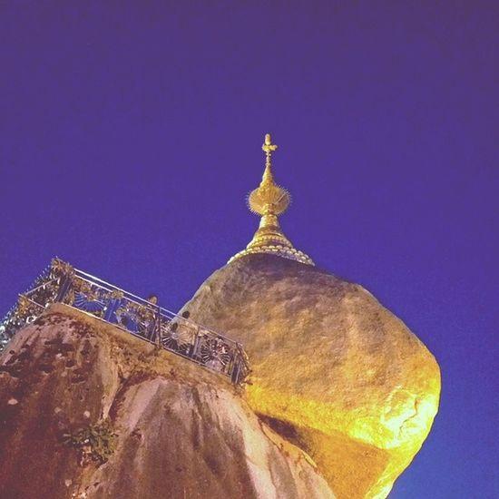 Kyaikhteeyoe Pagoda Goldenrock Myanmar igersmyanmar throwbackthursday tbt