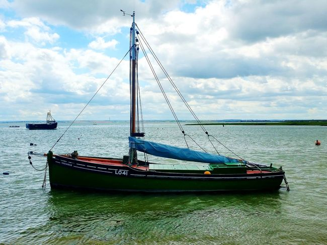 The 'ENDEAVOUR', used during the Dunkirk evacuations. World War 2 Sailing Ship Transportation Mode Of Transport Historic Ship Moored Leigh On Sea