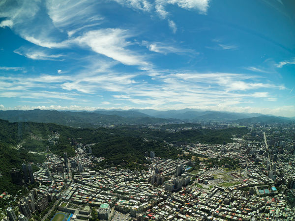 Taipei, Taiwan Aerial View Architecture Building Building Exterior Built Structure City Cityscape Cloud - Sky Day Environment High Angle View Landscape Mountain Nature No People Outdoors Residential District Scenics - Nature Sky TOWNSCAPE Tree Urban Sprawl