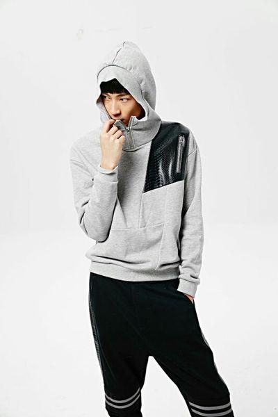 Jasonwood Street Fashion Cool Black Gray Popular Photos Fashion Lookbook Handsome Boy Today's Hot Look