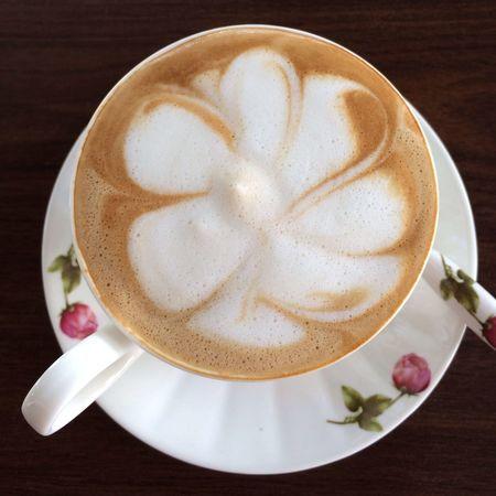 Flower Cosmffee Coffee ☕