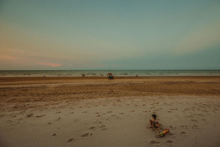 Huahin beach thailand Beach Land Sky Water Sea Sand Real People Horizon Over Water Horizon Beauty In Nature Scenics - Nature Incidental People Leisure Activity Nature Men Lifestyles Two People People Women