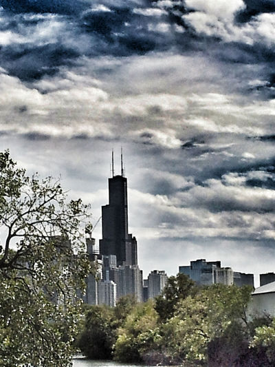 Chicago Sears Tower or Willis Tower Architecture Building Exterior Chicago Chicago Architecture City Cityscape Cityscapes Cloud Cloud - Sky Cloudy Development Direction Dramatic Sky Dusk Exterior Guidance Moody Moody Sky Outdoors Overcast Residential District Silhouette Sky Sunset Tower Willis Tower Willistower