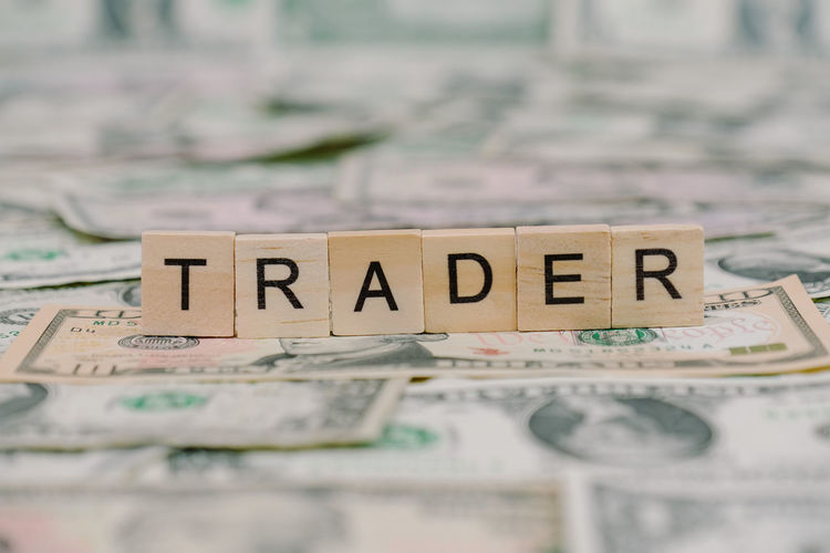Trader Close-up Communication Currency Finance No People Paper Currency Savings Text Trade Trader Wealth