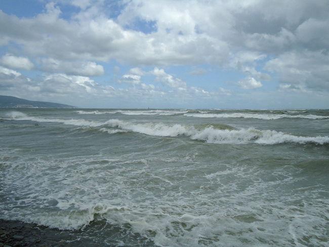 Beach Beachfront Clouds Coastline Novorossiysk Outdoors Sea Seafront Seascape Shore Stormy Sea Summer Waterfront Алексино