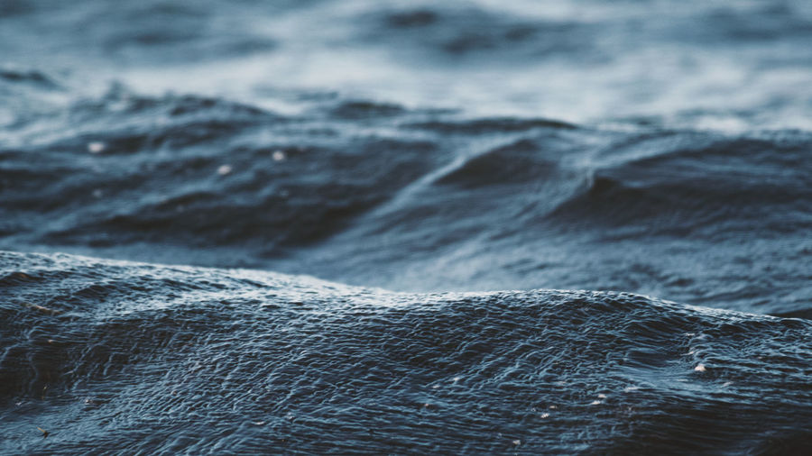Close-up of sea
