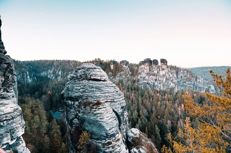 What a massive rock 😎 Adventure Outside Rock Rock Formation Climbing Autumn Natur Traveler Landscapes Landscape Travel Hiking Earth Mountains Germany Bastei Explorer Traveling EyeEm Selects Explore Sunset Outdoors Outdoor Photography Nature Sky Close-up Countryside Stack Rock Cliff Natural Landmark