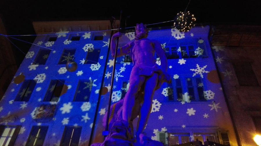 Hello World Blue Lights Cristmas Time♥ Cristmas Tradition CRISTMAS💙 Cristmas Light And Shadow No Filters Or Effects Architecture_collection Architecture Cristmas Around The World Cristmas Market Trentino Alto Adige Cristmas Light